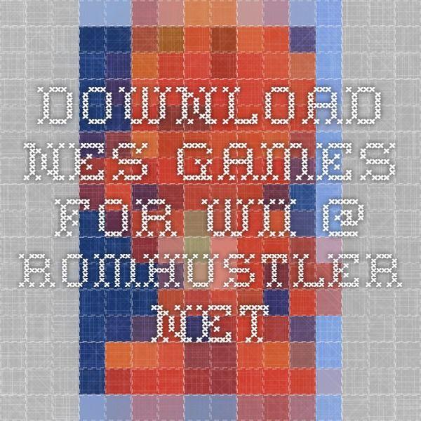 download NES games for Wii @ romhustler.net