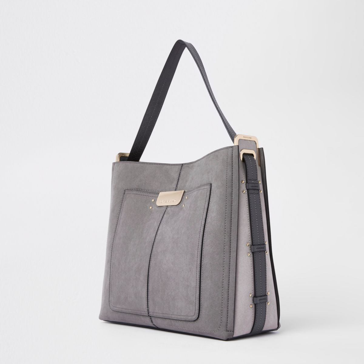 c868b8b3344c Grey tab side slouch bag | Favourite Items in 2019 | Slouch bags ...
