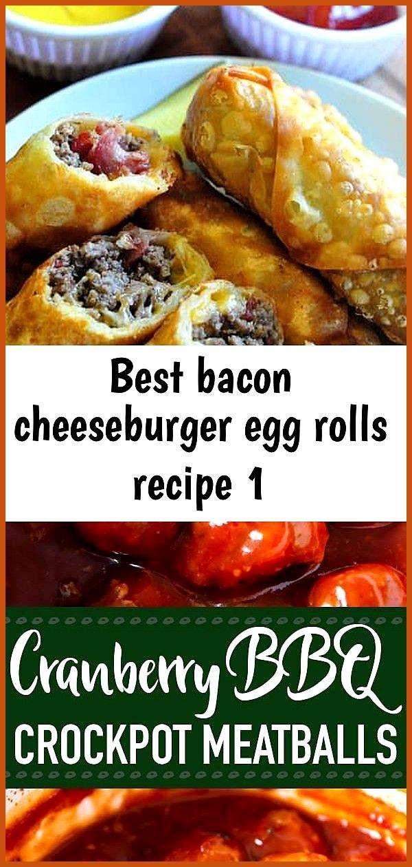 Best bacon cheeseburger egg rolls recipe 1 appetierz caprese appetierz sliders
