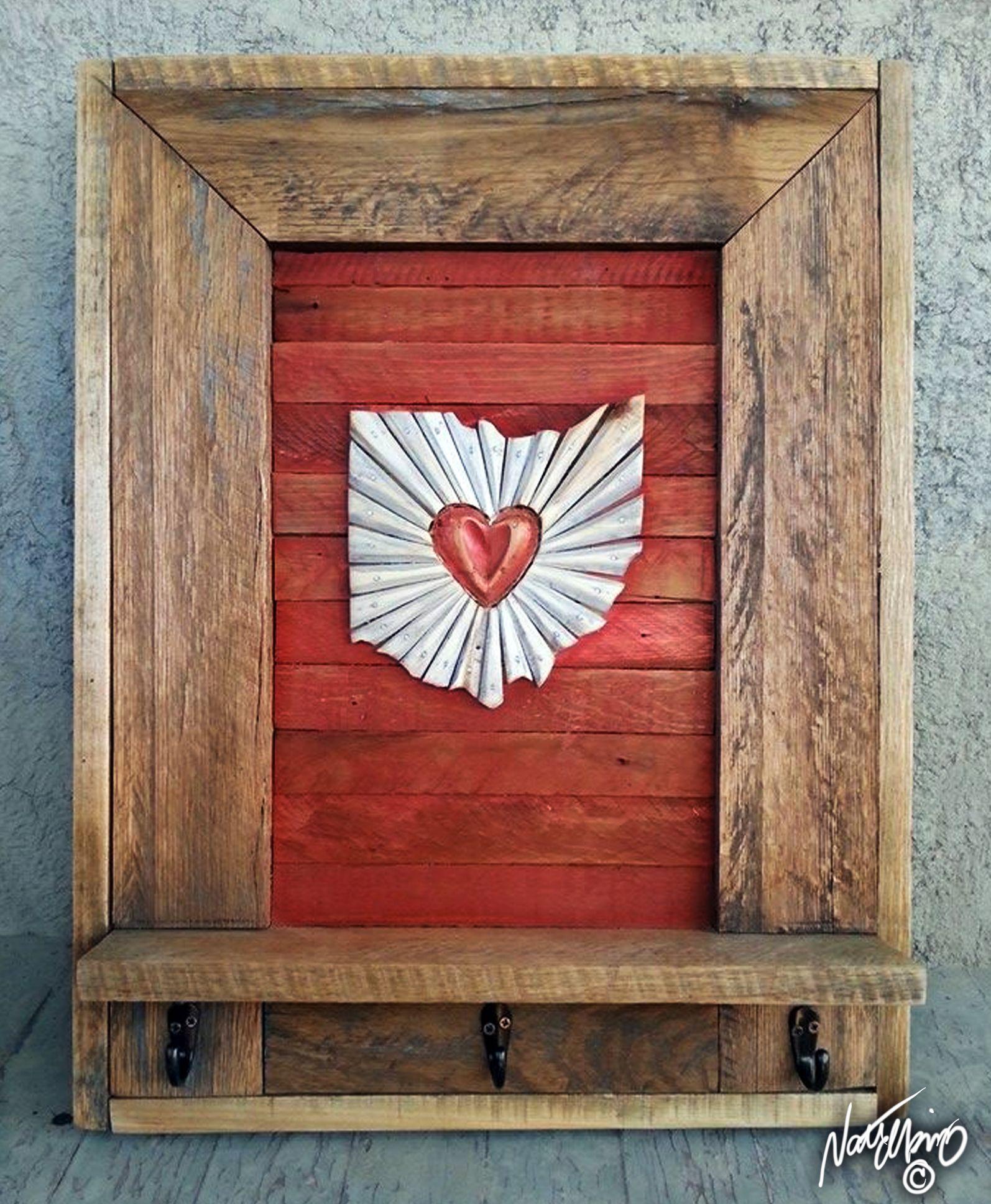 Ohio Wall Art neideas on facebook! original artnate elkins,buckeye,hand