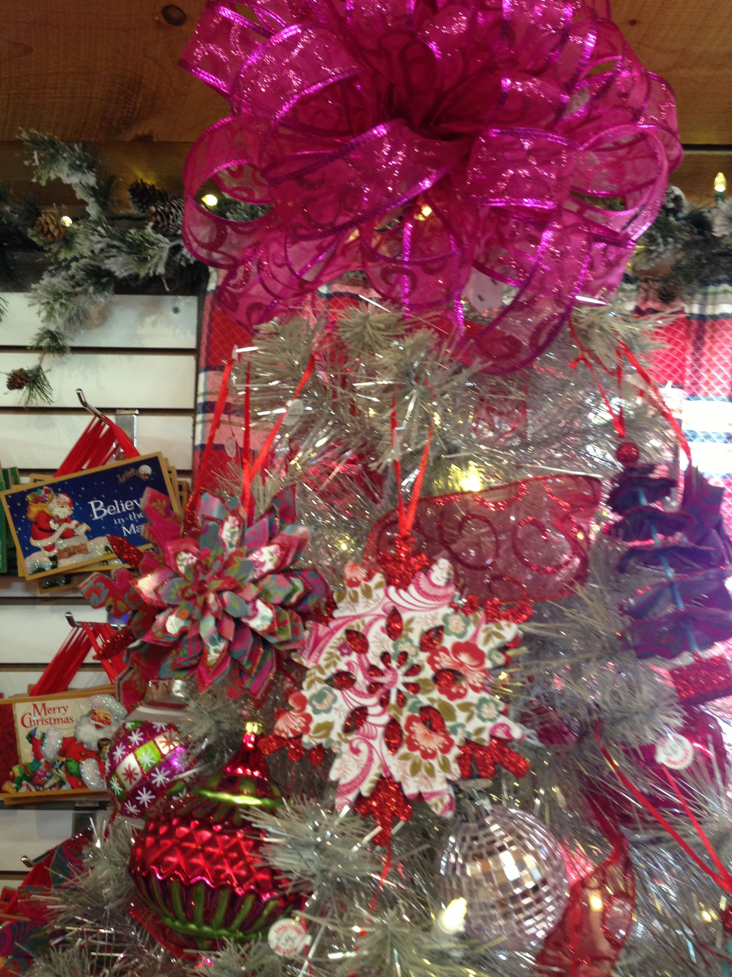 Red and pink tree!!