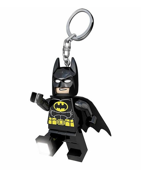 LEGO DC SUPERHEROS BATMAN KEYLIGHT KEY CHAIN KEYRING KIDS LED LITE