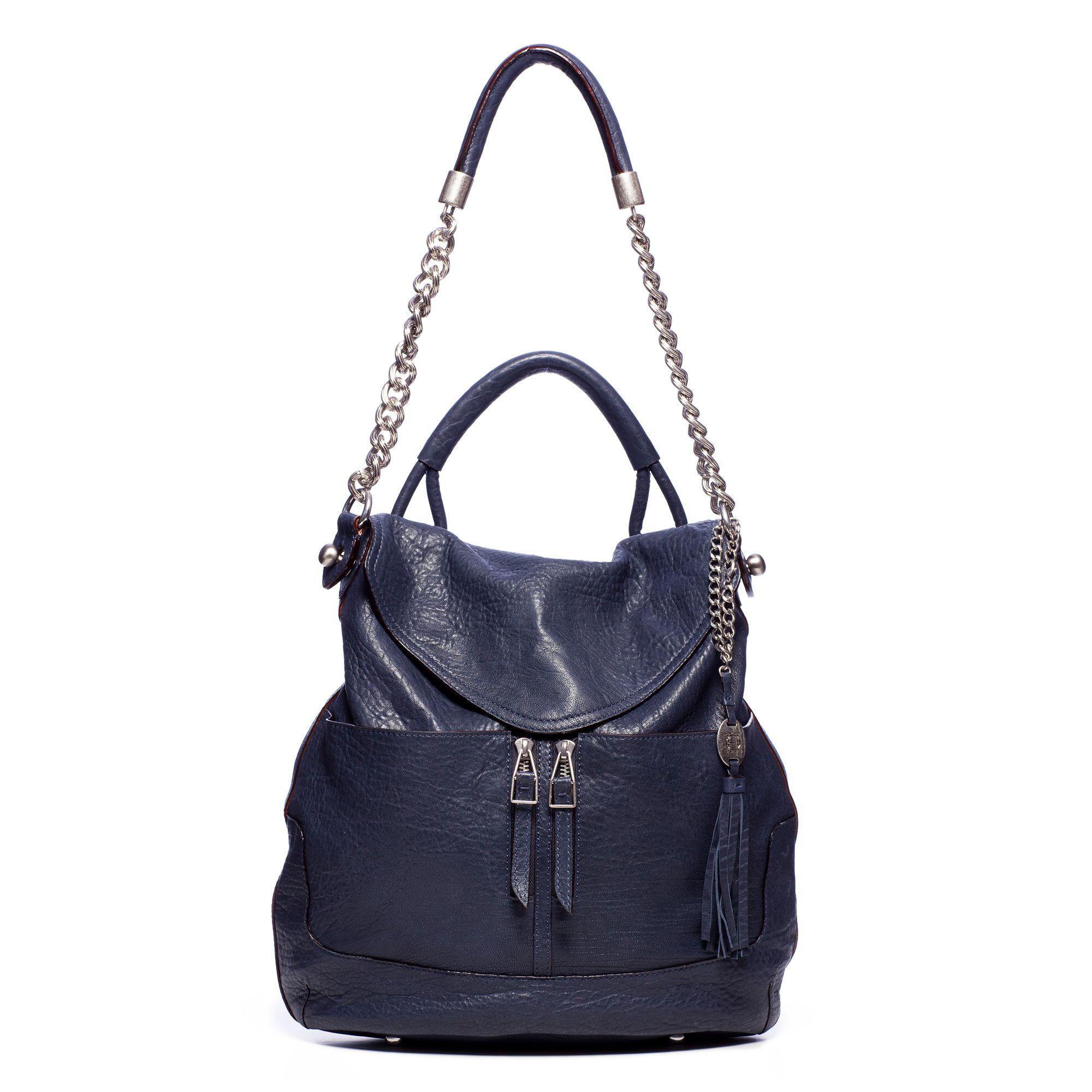 iWant $455 Zip Pocket Flap Hobo by Olivia Harris