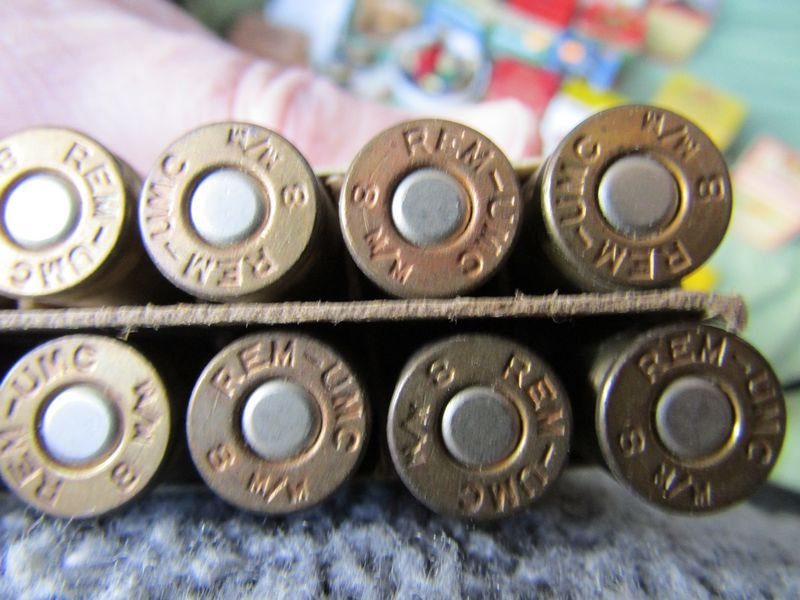 Modern and vintage rifle, pistol and shotgun ammunition