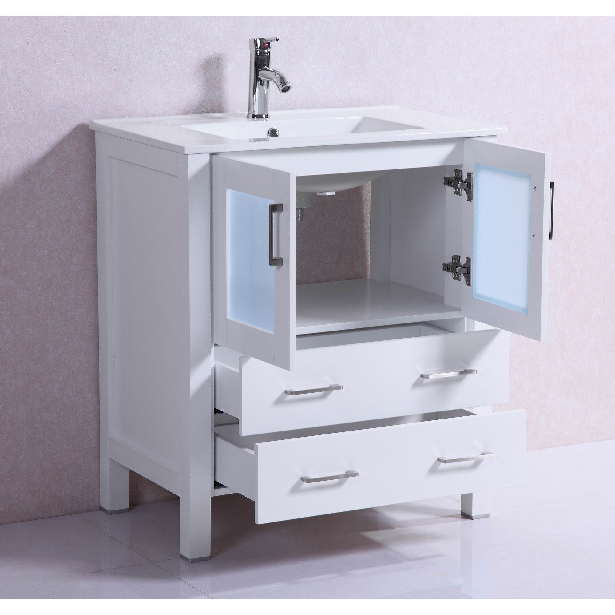 modern bathroom cabinet doors. Modern Freestanding 30\ Bathroom Cabinet Doors E
