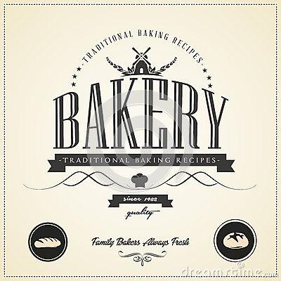 Resultado de imagen para vintage bakery label