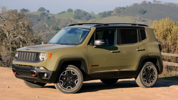2015 Jeep Renegade In Commando Green