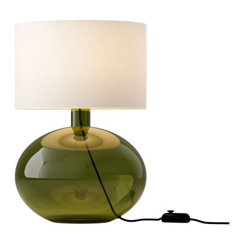 LOVE!  LJUSÅS YSBY  Table lamp, green  $99.99  The price reflects selected options  Article Number:502.091.39  Shade made of textile; gives a diffused and decorative light.