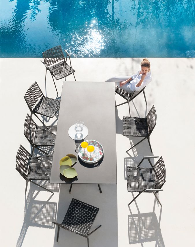Branch outdoor chair | metal outdoor chair from Tribù | LANDSCAPE ...