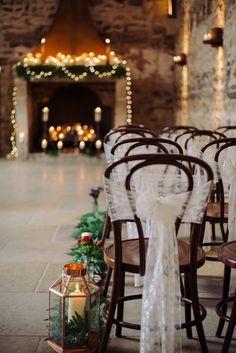Cosy Candlelit Woodland Dreams Barn Wedding Ideas