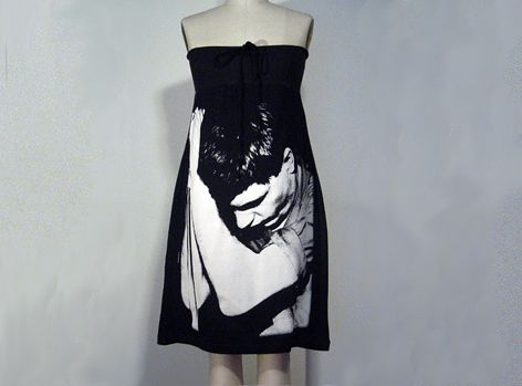 IAN CURTIS Joy Division Photo PRINTED Dress!! von FashionRocks auf DaWanda.com
