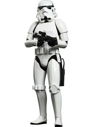 Star Wars Episode Iv A New Hope Stormtrooper 12 Inch Action Figure Star Wars Models Star Wars Stormtrooper Star Wars Empire