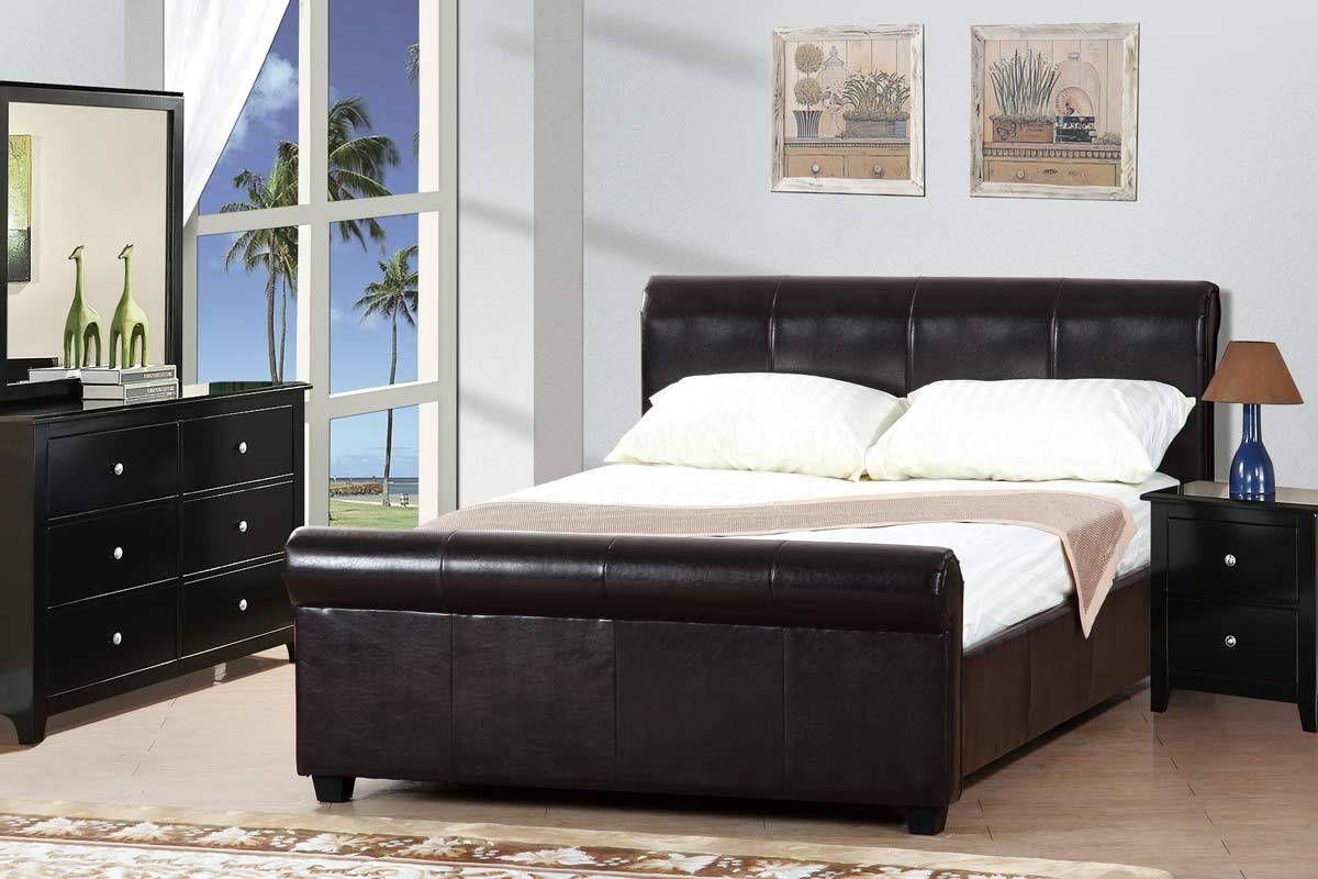 Platform queen bed in espresso my dream house pinterest queen