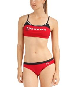 34aa8f7b958 Nike Swim Lifeguard Sport Top 2pc | swimsuits | Swimsuit tops ...