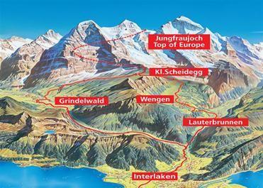 Como o passeio a Jungfraujoch Top of Europe Tourism