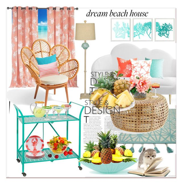 Dream house beach on cam imsk Polyvore nihal by rrCqPxO