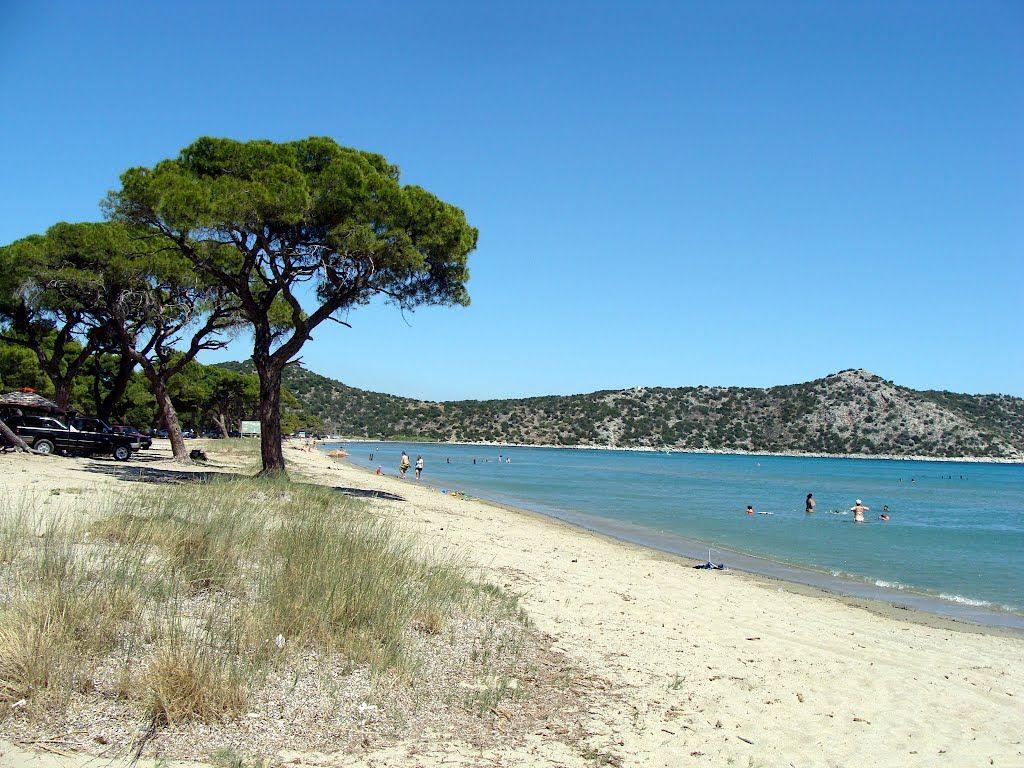 Schinias Beach In Athens City Marathon Dip