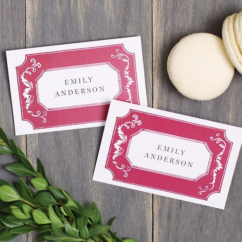 Free Printable Wedding Or Holiday Place Card Template Place Card - Card template free: printable wedding place card template free