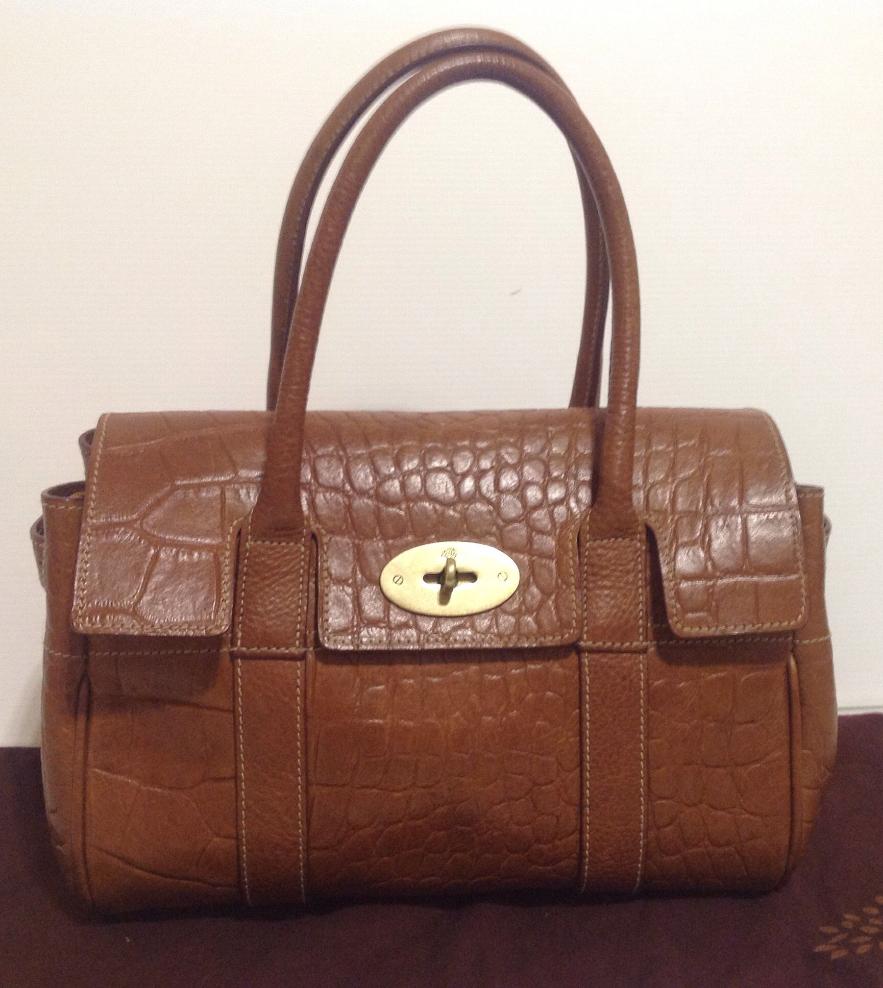 6ed0bd15177a clearance mulberry shoulder bag 8da0b a6868  promo code for authentic  mulberry ledbury baby bayswater oak congo leather. superb cond 475.00 this