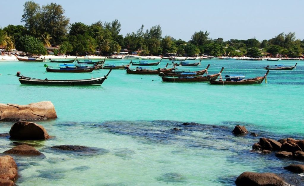 Koh Lipe Thailand Island In Andaman Sea To The Border With