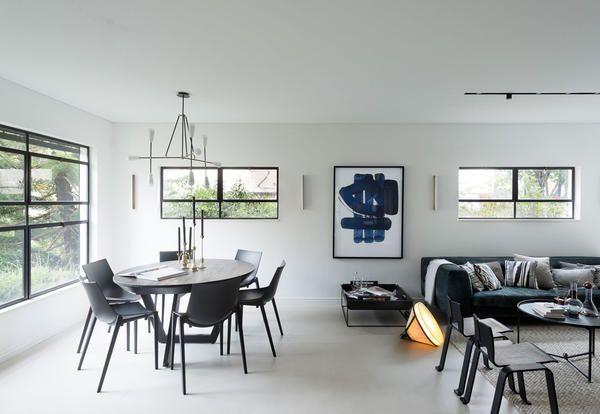 Arredare Bilocale ~ Arredamento bianco e nero per un appartamento di lusso elle decor