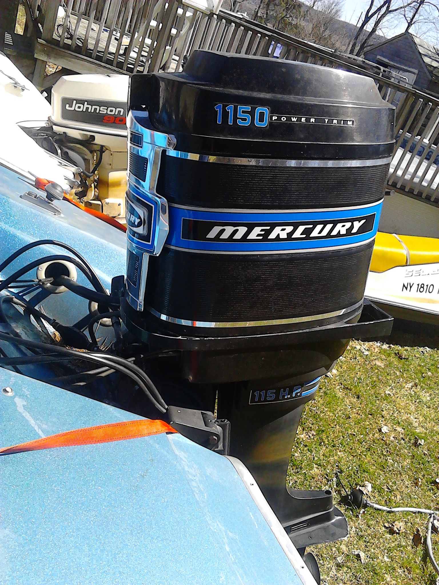 1975 mercury 115hp inline 6 outboard glastron outboard motors1975 mercury 115hp inline 6 outboard