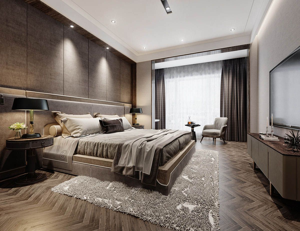Modern Asian Luxury Interior Design | Modern bedroom ...