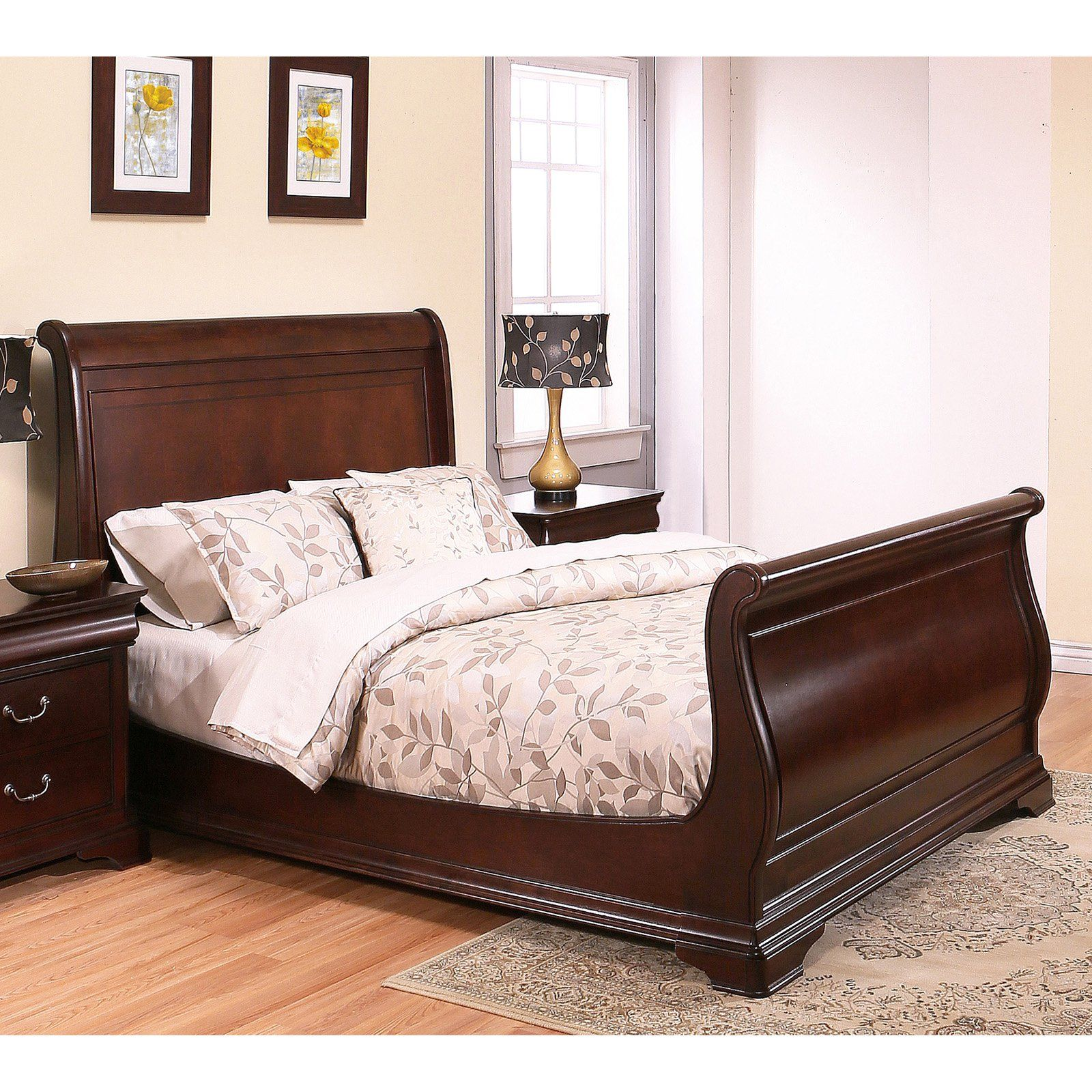 Abbyson Matilda Queen Sleigh Bed In 2020 King Bedroom Sets