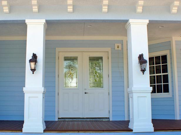 How To Install A Porch Railing Porch Columns Porch
