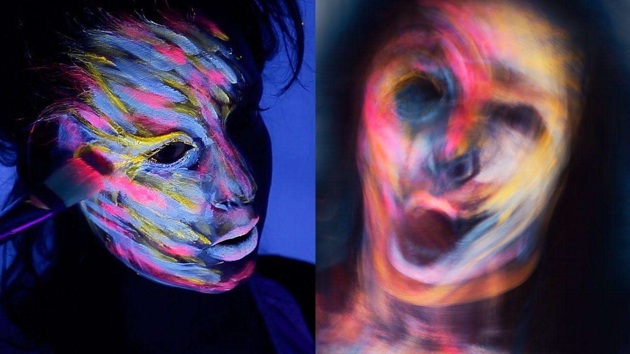 Demons uv makeup tutorial blacklight ultraviolet photography light demons uv makeup tutorial blacklight ultraviolet photography light painting baditri Images