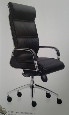 Genuine Office Leather Chair By Pt Dynamic Khoo Interior Furniture