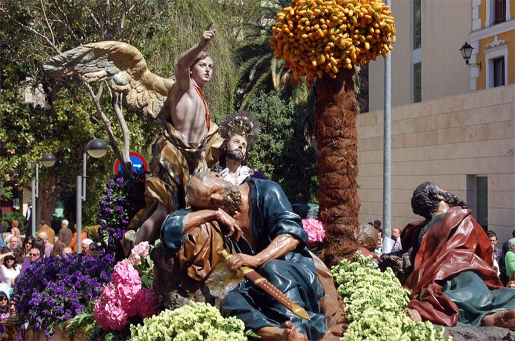 Oracion En El Huerto De Francisco Salzillo Iglesia De Jesus Museo