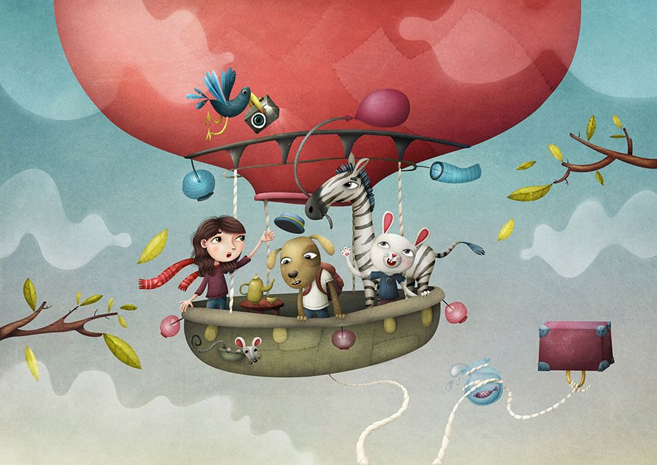Balloon And Friends on Behance