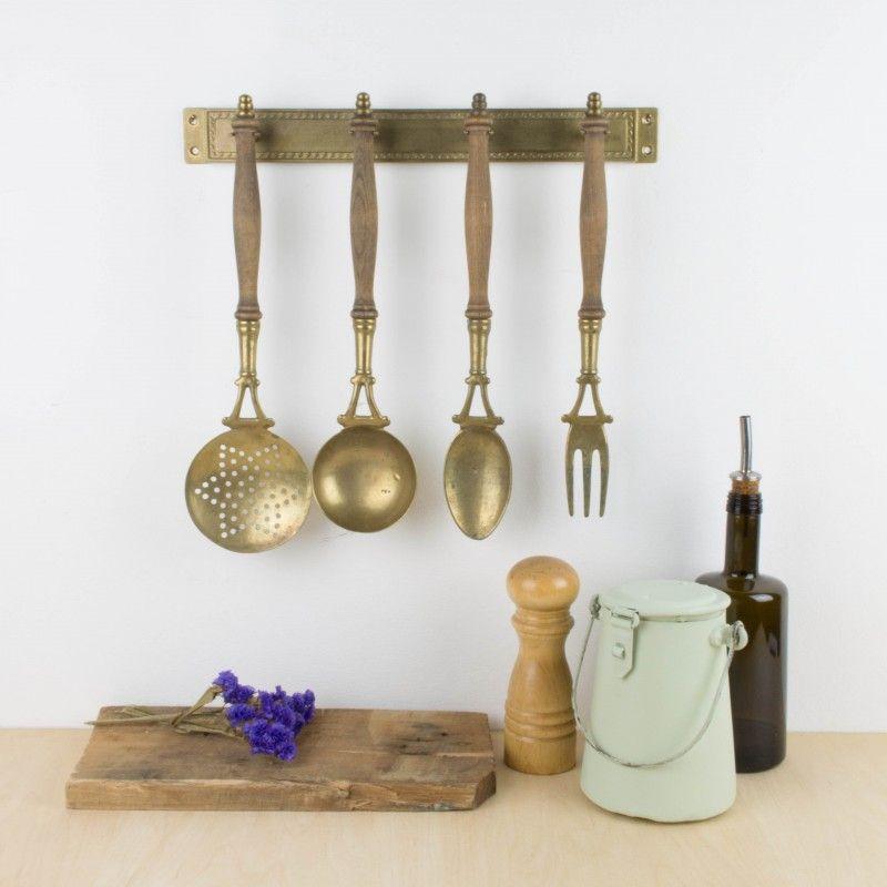 Antiguos utensilios de cocina para colgar | Antic&Chic | Antic&Chic ...