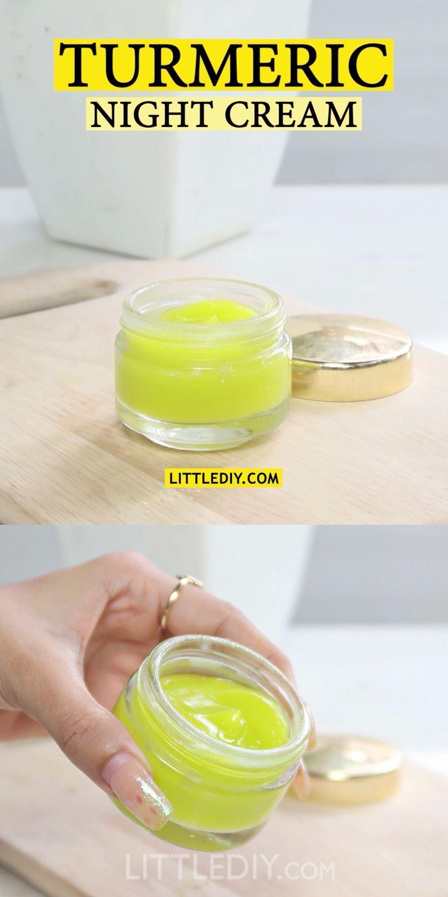 Photo of TURMERIC NIGHT SERUM for healthy, radiant skin – Little DIY #skincare Turmeric is … – New Ideas