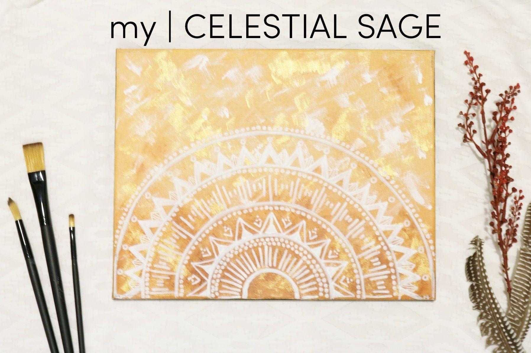 Mindfulness Art, Mandala Paintings at etsy.com/shop/mycelestialsage ...