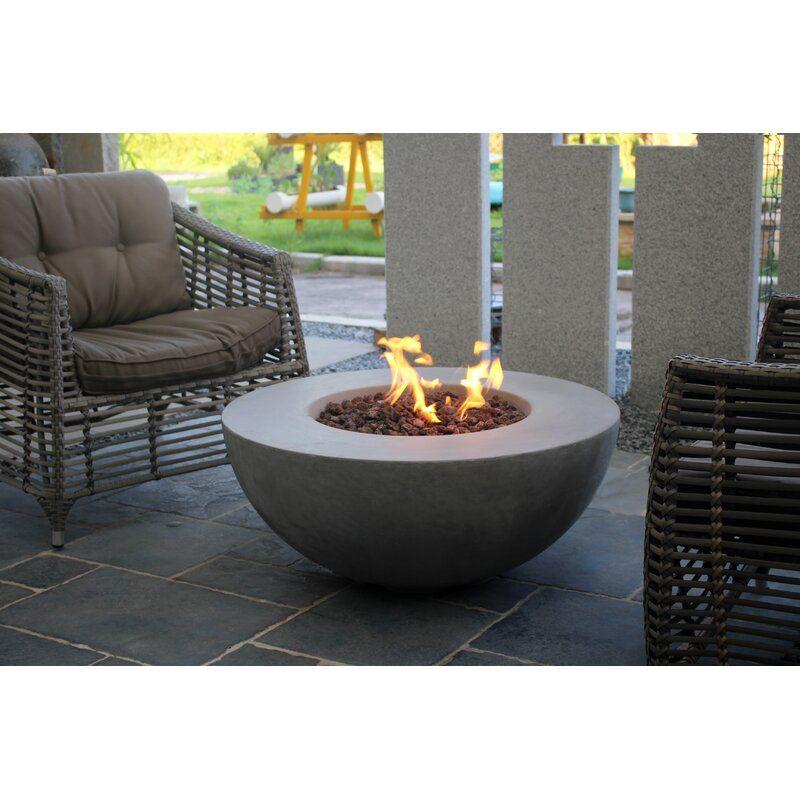 Orren Ellis Schoen Concrete Propane Natural Gas Fire Pit Ad Sponsored Aff Schoen Ellis Propane C In 2020 Propane Fire Pit Table Propane Fire Pit Fire Pit