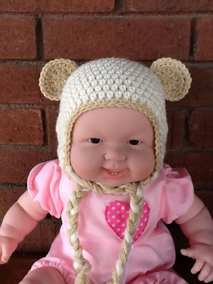 Classic Bear Hat by lisaswick on Etsy, $18.00