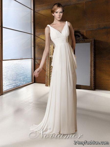 Image result for grecian wedding gown | Winter Wedding | Pinterest ...