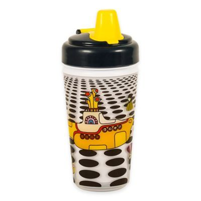 Daphyls The Beatles Yellow Submarine Insulated Sippy Cup Sippy Cup Yellow Submarine Sippy