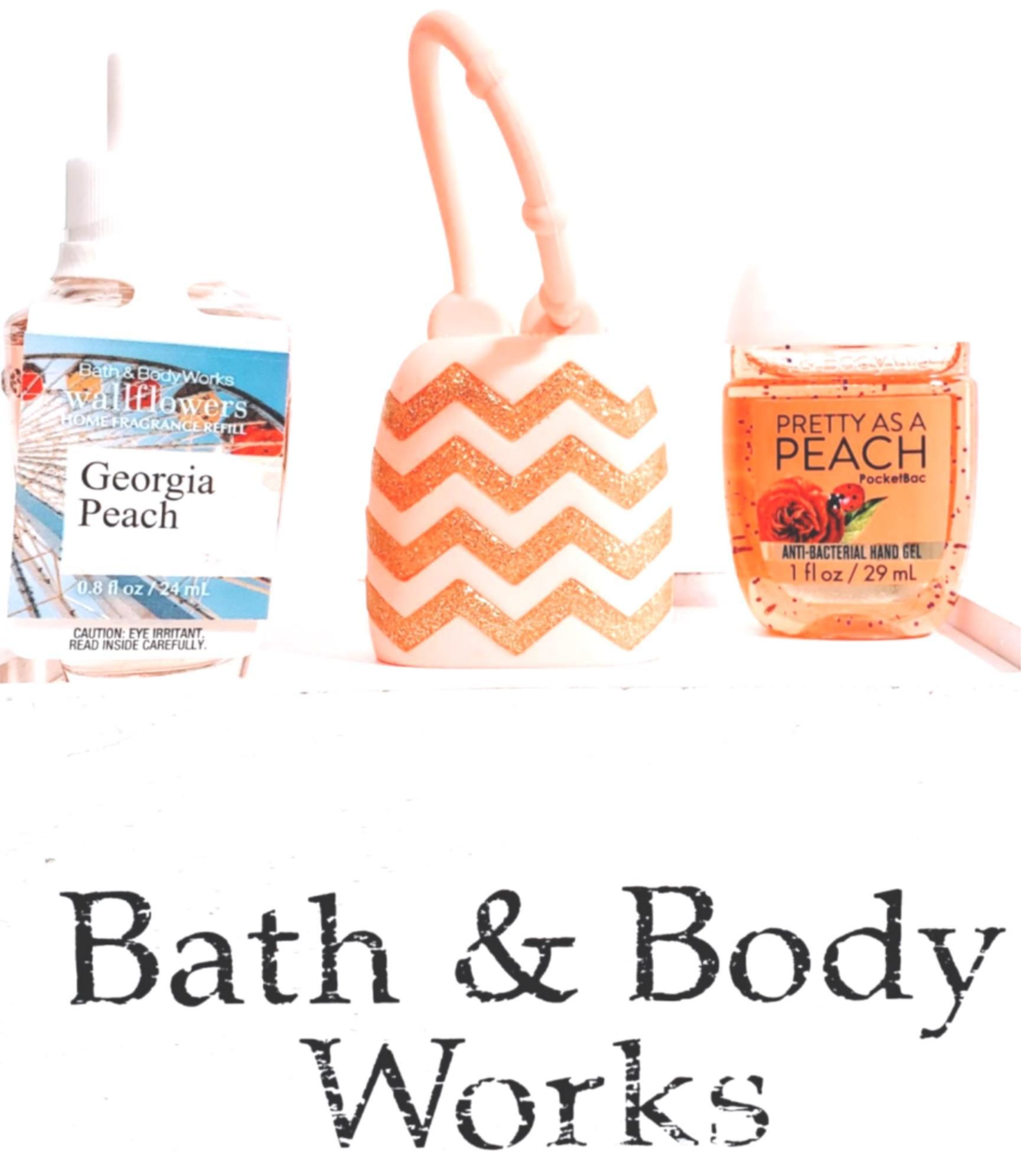 Bath Body Works Pretty As A Peach Wallflower Pocketbac