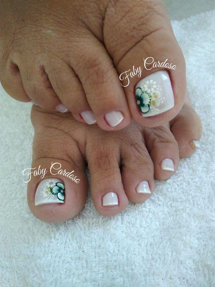 Unhas dos pés decoradas minha pasta Unhas do pé decoradas, Unhas do pé e Unhas -> Decoração De Unhas Do Pé