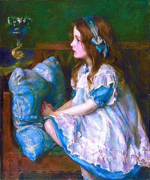 "Louise Howland King Cox, ""May Flowers"""