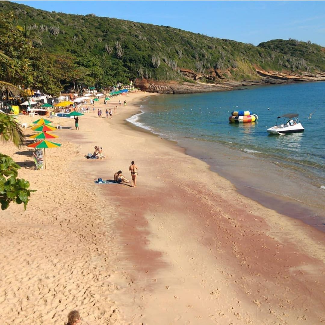 Azeda Beach In Buzios, Rio De Janeiro Editorial Stock