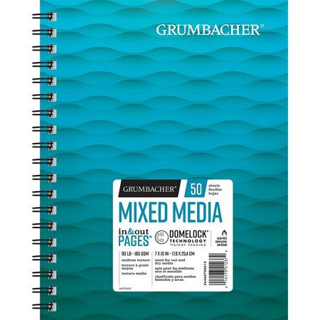 Grumbacher Mixed Media Paper 7 Inch X 10 Inch Size 7 Inch Mixed