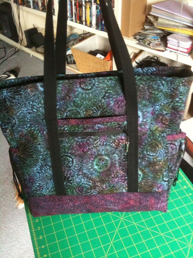 bba9c7eedc91 Professional tote pattern.