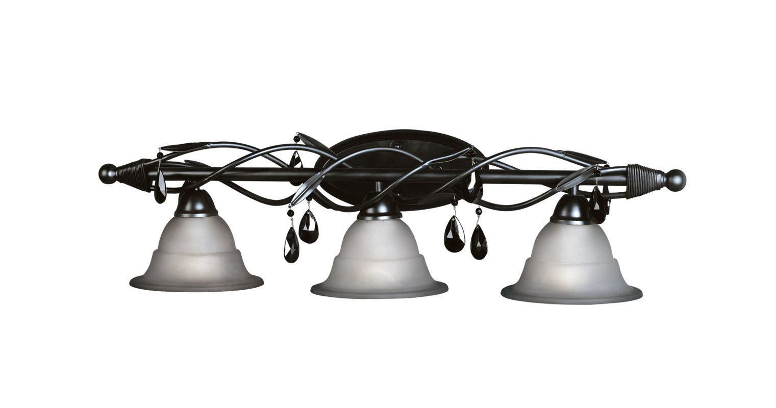 Woodbridge Lighting 55802-BLK | Vanity lighting, Bathroom ...