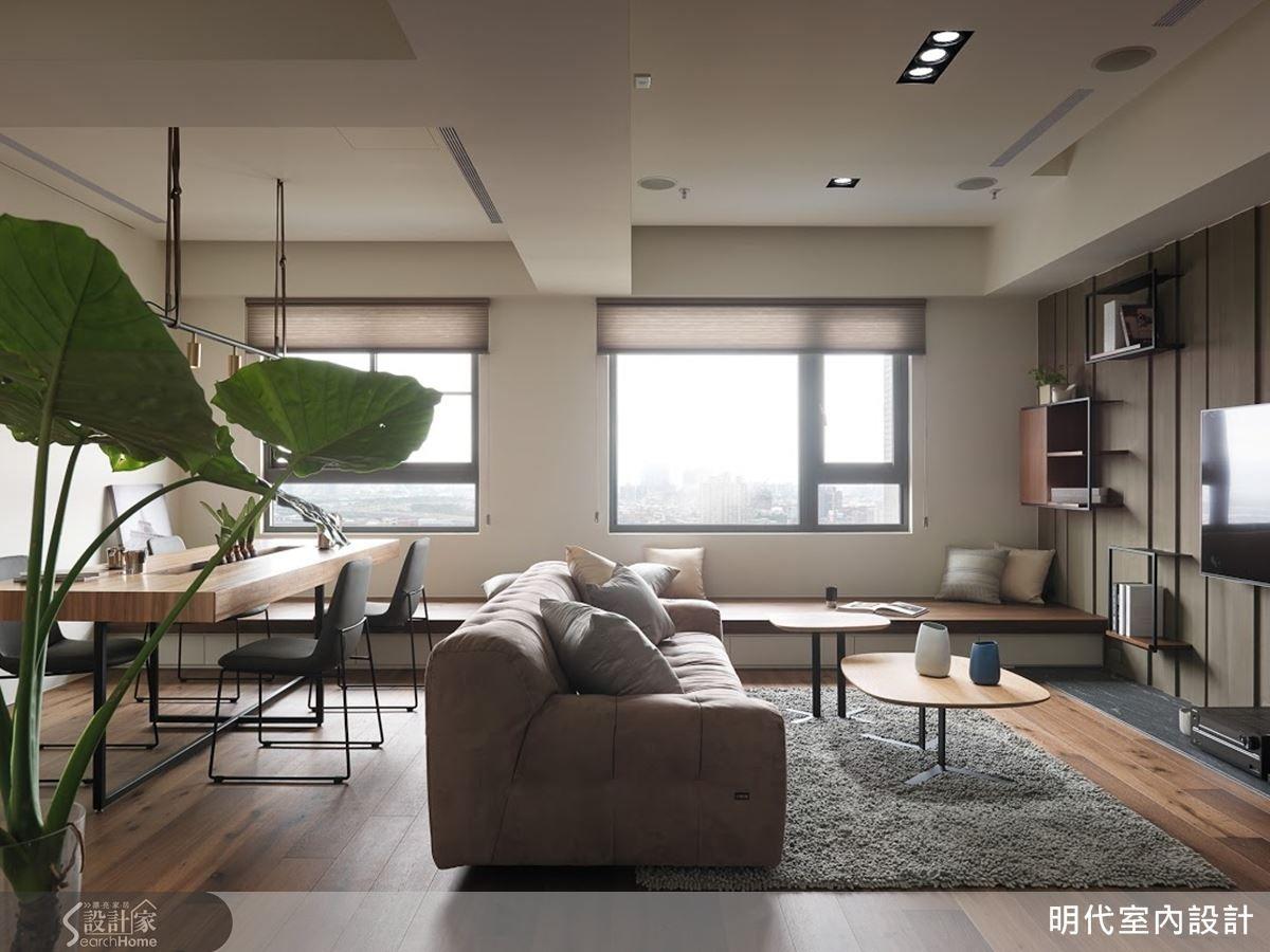 展翼翱翔 剛中帶柔的單身型男部屋 Interior Design