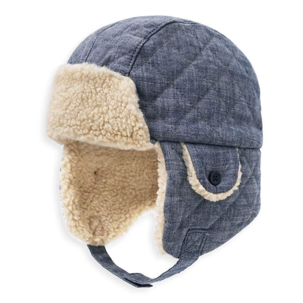 Keepersheep Baby Boy Ushanka Earflap Winter Trooper Hat Cap Kids Trapper Hat  ...  fashion  clothing  shoes  accessories  babytoddlerclothing ... 52b8f7e91dd