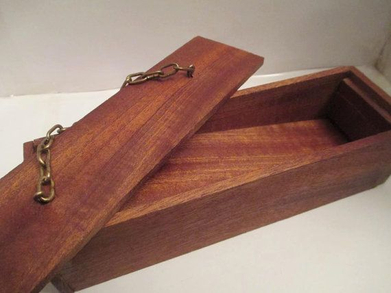 Make Memento Natural Wood Favour Box by MakeMemento on Etsy, £9.99